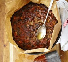 Prepare this fruit cake in advance and feed it regularly with rum, brandy or whisky to build the flavour and keep it moist