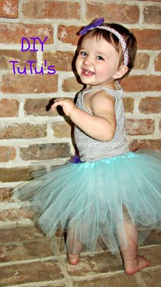 Here is a quick way to make a tutu for any size. Simply follow the easy tutorial to make this for a costume, play or any fun purpose. Also there are instructions for matching head band. www.amothersshadow.com
