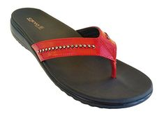 Womens Orthopedic flipflop sandals >>> Find out more about the great product at the image link.(This is an Amazon affiliate link and I receive a commission for the sales)