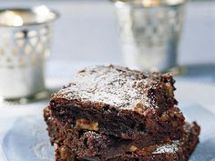 Chocolate chunks make these brownies fudgy; decrease baking time to 23 minutes to make them extra gooey.