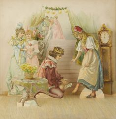 cinderella storybook illustration
