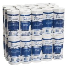 """Georgia-Pacific Preference 27300 White 2-ply Perforated Paper Towel Roll, 8.8"""" Length x 11"""" Width (Case of 30 Rolls, 100 per Roll) Georgia-Pacific http://smile.amazon.com/dp/B002C79ND4/ref=cm_sw_r_pi_dp_uNN.wb1R0MEN6"""