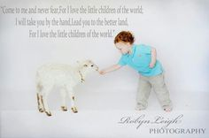baby and Lambs