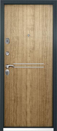 Входные двери — Дверь Stel 04 (внутренняя сторона-дуб)