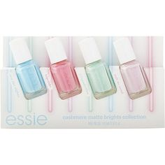 Essie Colorful E Ever After Bridal Collection Nail Polish Gift Set Beauty Pinterest Gifts And