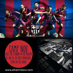Details of this excusion in: http://alhamratour.blogspot.com.es/2014/10/travel-halal-way-and-discover-camp-nou.html  Add this excursion to your travel in www.alhamratour.com  #fcbarcelona #spanishfootball #barca #barcelona #campnou #Spain #travel