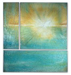 Cassandria Blackmore - reverse painted glass