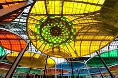 Expo Monumenta 2012 : Daniel Buren, Excentrique(s) - Grand Palais - Nef