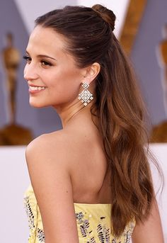 Alicia Vikander is your new hair idol