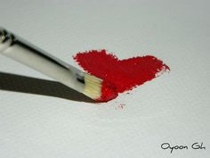 corazón heart rojo red pincel brush miraquechulo