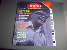 Rhino Records. New Release Book, Release 9, September 1997, Rhino Records Promo!