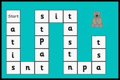 Debbie's Resource Cupboard: satpin game phase 2 letters and sounds Phonics Song, Phonics Reading, Jolly Phonics, Phonics Worksheets, Phonics Activities, Phase 3 Phonics, Synthetic Phonics, French Language Learning, Spanish Language