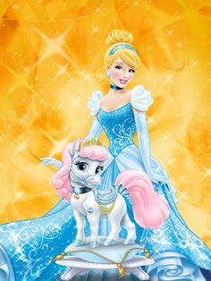 Disney Princess Palace Pets - Cinderella and Pumpkin Disney Princess Pictures, Disney Princess Art, Disney Art, Disney Wiki, Princess Photo, Cinderella Wallpaper, Disney Wallpaper, Disney Cartoon Characters, Disney Cartoons