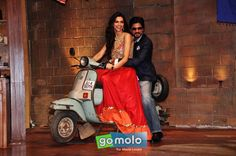Deepika Padukone, Shah Rukh Khan | Promotion of Hindi movie 'Chennai Express' on the sets of 'Comedy Nights With Kapil' in Mumbai