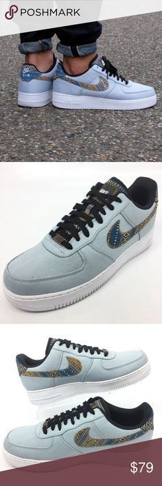 NIKE Air Force 1 LV8 Blue Sneakers  718152 10 NEW NIKE Air Force 1 LV8 Men's Blue Sneakers  718152 Size 10 NEW  Flaw Free; See Photos for Details; Shoe Horns are Not Included  The item will be shipped either the same or next day  Send me a message with any questions Nike Shoes Sneakers