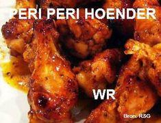 VLEIS - HOENDER Chicken Fillet Recipes, Tandoori Chicken, Meat, Baking, Ethnic Recipes, Food, Bakken, Essen, Meals