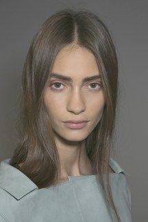 Centre Partings Hair How-To: Spring/Summer 2014 (Vogue.com UK)