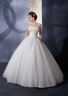 organza bretelles avec des fleurs exquises robes de bal robe de mariage de princesse princesse
