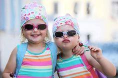 cute kids - little girls - sweet - hug - cuddle - smile - lollipop - best friend