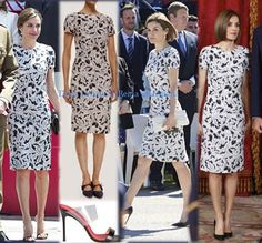 Queen Letizia of Spain attends the Armed Forces Day on May 27 2017 in Guadalajara Spain