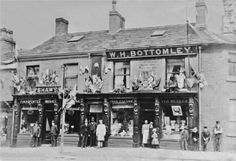 Olden days of Glossop...