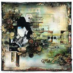 scrap grunge steampunk mechanism