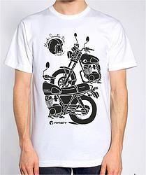 T-shirt LOAM 75 Color Blanco. 24,20€ IVA Incl.