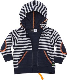 Navy Night Striped Hooded Top (Dude) from the Molo Kids 2013 Summer Collection
