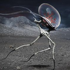 46 Ideas For Science Fiction Inspiration Aliens Concept Art Alien, Creature Concept Art, Creature Design, Alien Creatures, Fantasy Creatures, Mythical Creatures, Arte Sci Fi, Sci Fi Art, Monster Design