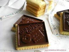 Baking Recipes, Cookie Recipes, Czech Recipes, Holiday Cookies, Christmas Candy, Cookie Bars, Doughnuts, Blondies, Fudge