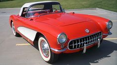 1957 Chevrolet Corvette Convertible 283/270 HP, 4-Speed presented as lot S86 at Dallas, TX 2015