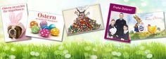 Tolle Postkarten für ein schönes Osterfest