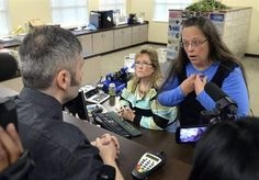 County Clerk in Kentucky that remains jailed because she refused to follow a Supreme Court ruling forcing her to issue marriage licenses to same sex couples.GRAYSON, Ky. – Rowan County Clerk Kim Davis will spend the Labor Day holiday weekend in isolation at the Carter County Detention Center w