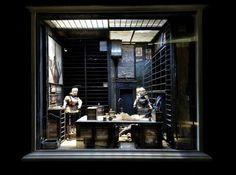 The Brothers Quay, Set, Dormitorium exhibit | via Facebook