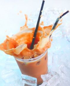 cool !  Thai iced tea from the Tea Makers.