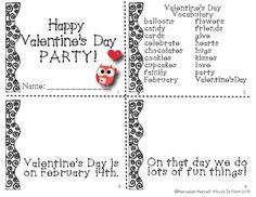 FREEBIE- HAPPY VALENTINE'S DAY MATH AND LITERACY PARTY! FIRST GRADE - TeachersPayTeachers.com