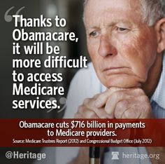 Learn more: Understanding Obamacare's $716 Billion in Cuts to Medicare - March 22, 2013