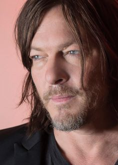 """Norman Reedus photographed by Kirk McKoy for Los Angeles Times """"'I do some of my best thinking with a helmet on. You're aware of everything going on; it's not like you tune out what you're doing. But..."""