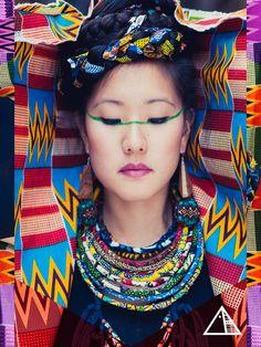 ▲ WORLD CITIZEN ▲ (c) Indra Ethnik Transcultural Art & Design Studio