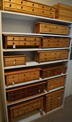 Boxes with drawers - Dan Wetter Woodworking - Fat Chance Ranch - Castle Rock, WA
