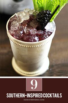 The 9 Best Southern-Inspired Cocktails