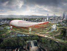 New National Stadium Japan