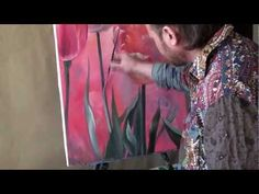 Цветочный танец (картина маслом) - Floral dance(painting of oil) - YouTube
