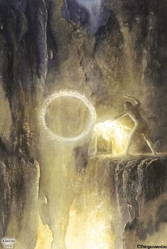 Sauron. Alan Lee