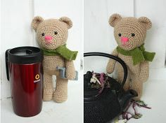 I´m happy to present You my newest amigurumi pattern: Amigurumi Crochet Teddy Bear Pattern  It all began with this post:  Making teddy bears...