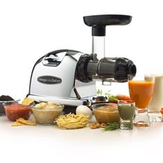 Amazon.com: Omega J8006 Nutrition Center Juicer - Black and Chrome: Electric Masticating Juicers: Kitchen & Dining