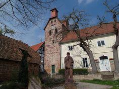 Die Stephanuskirche in Meinhard-Schwebda