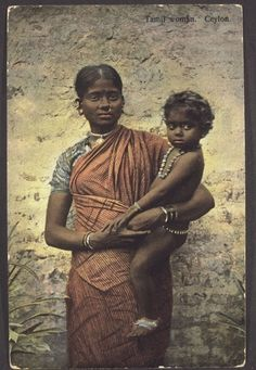 Colour tinted photograph of Tamil woman, Ceylon. Skeen and co. Old Images, Old Photos, Vintage Photographs, Vintage Photos, Indiana, Tribal Images, Ariana Grande Drawings, Indian Photoshoot, India Culture