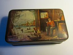 Vintage Australian Pascall Sweets Advertising Tin 'Tales
