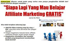 www.kayadariaffiliatemarketing.com/2 Download Video Tutorial Affiliate Marketing modul 1, modul 2, modul 3. Gabung juga di www.facebook.com/tipsakti.bisnis.online   Do you have a company with a website that gets no traffic.